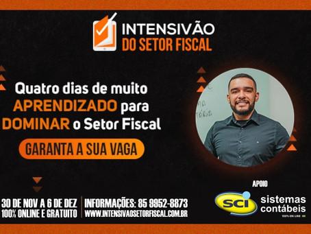 Intensivão do Setor Fiscal com o professor Fellipe Guerra - Inscrições Abertas!