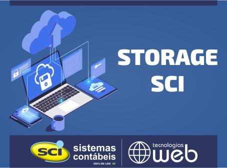 Storage SCI - Seu backup em nuvem com segurança