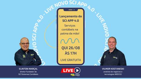 LIVE SCI - SCI APP 4.0 - Serviços contábeis na palma da mão!