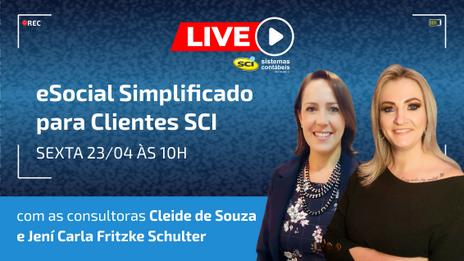 LIVE SCI - eSocial Simplificado na SCI