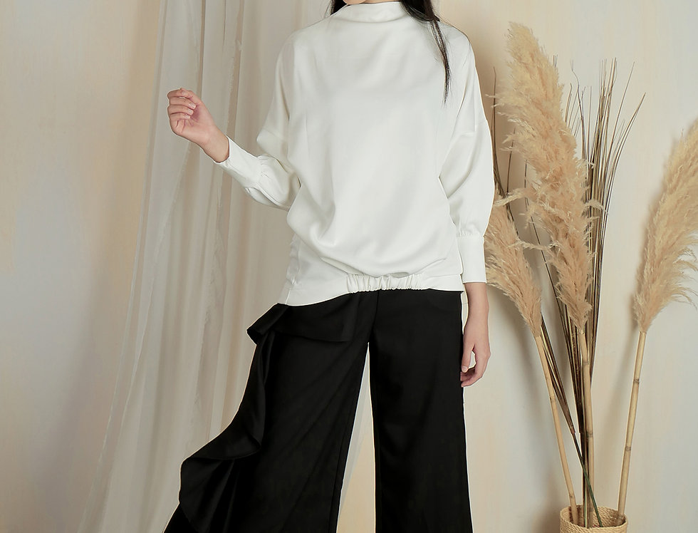 White Top Long Sleeve - TCN 028