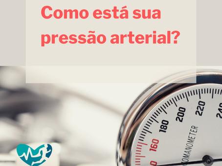 Como está sua pressão arterial?