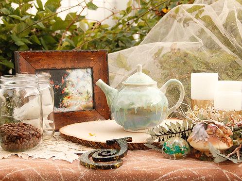 Early  Fall Teapot Size 8.1/2x 7.1/2