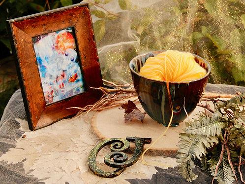 Near the lake yarn bowl size 9x8