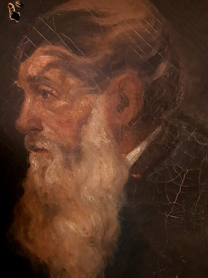 bearded man oil