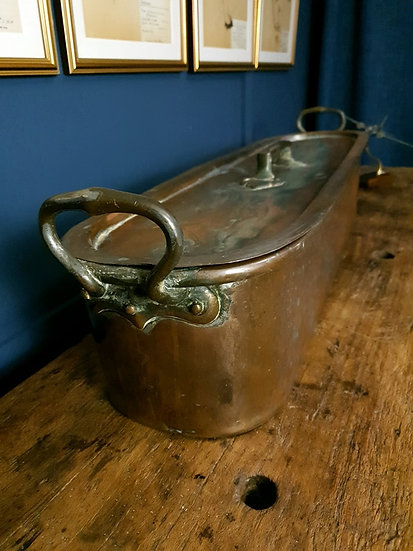 19th century copper pan/champagne ice bucket