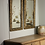 Thumbnail: A pair of gilt framed painted mirrors