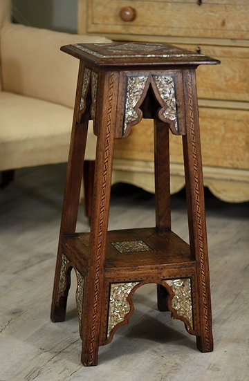 Moorish pot stand