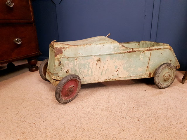 Antique french pedal car