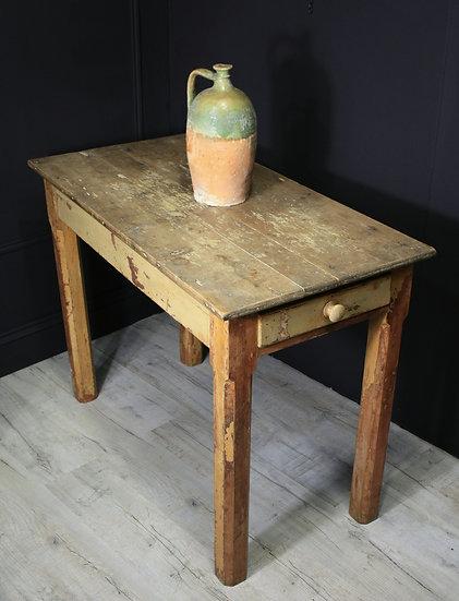 19th C Scottish high prep table