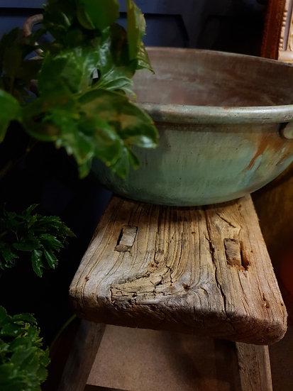 Split wood Elm stool