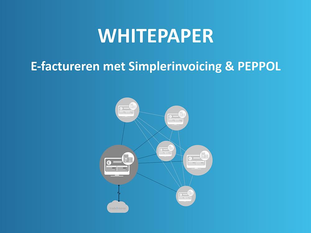 Whitepaper voor softwareleveranciers over e-factureren met Simplerinvoicing & PEPPOL
