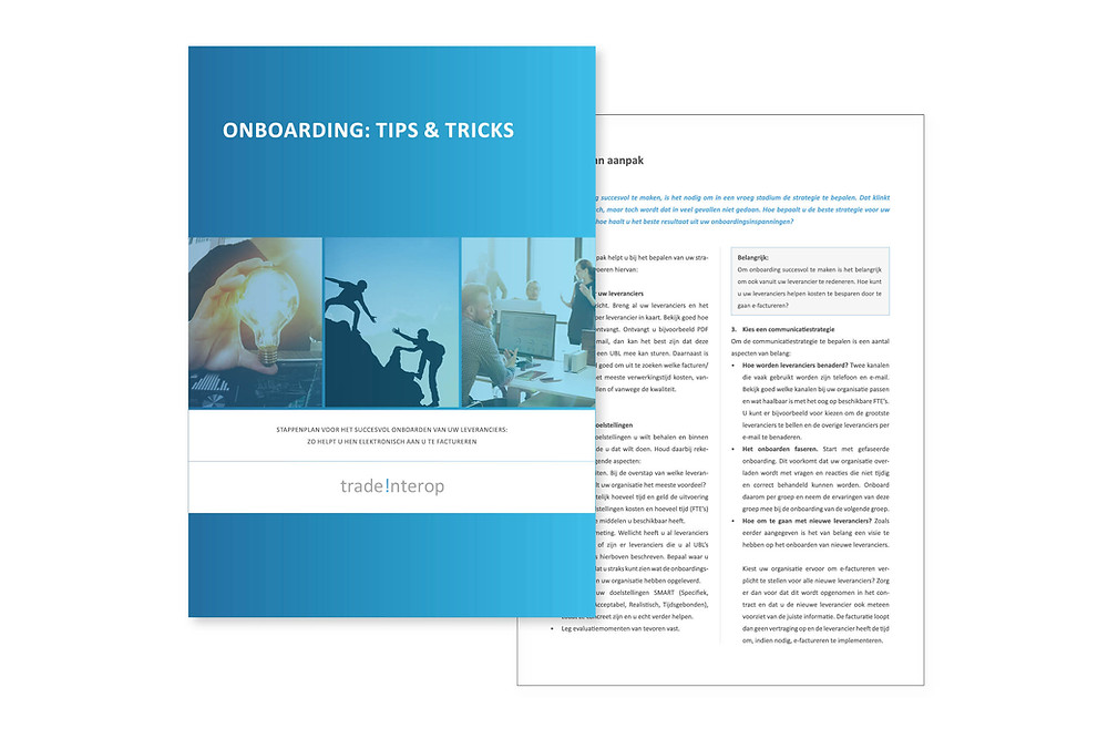 Whitepaper onboarding tips en tricks