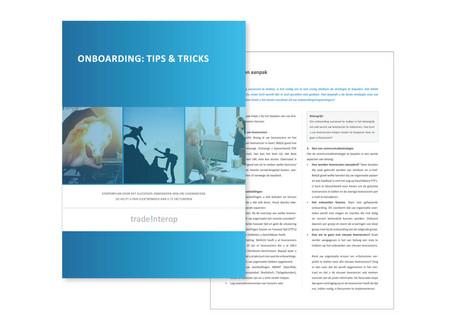Whitepaper 'Onboarding: Tips & Tricks'
