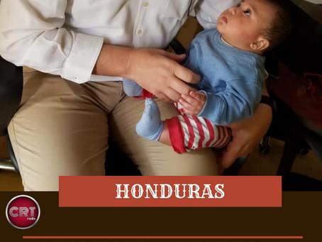 HONDURAS: PADRE FERDINANDO CASTRIOTTI SALVA UN BAMBINO