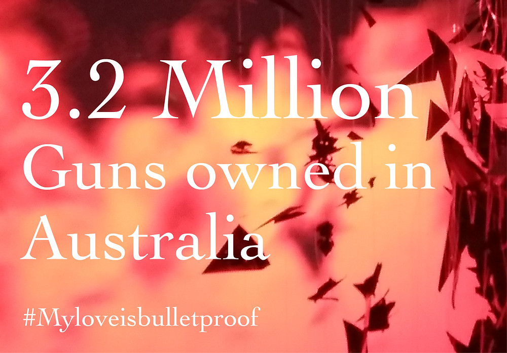 3.2 Million Guns owned in Australia, equal to time Port Arthur Massacre