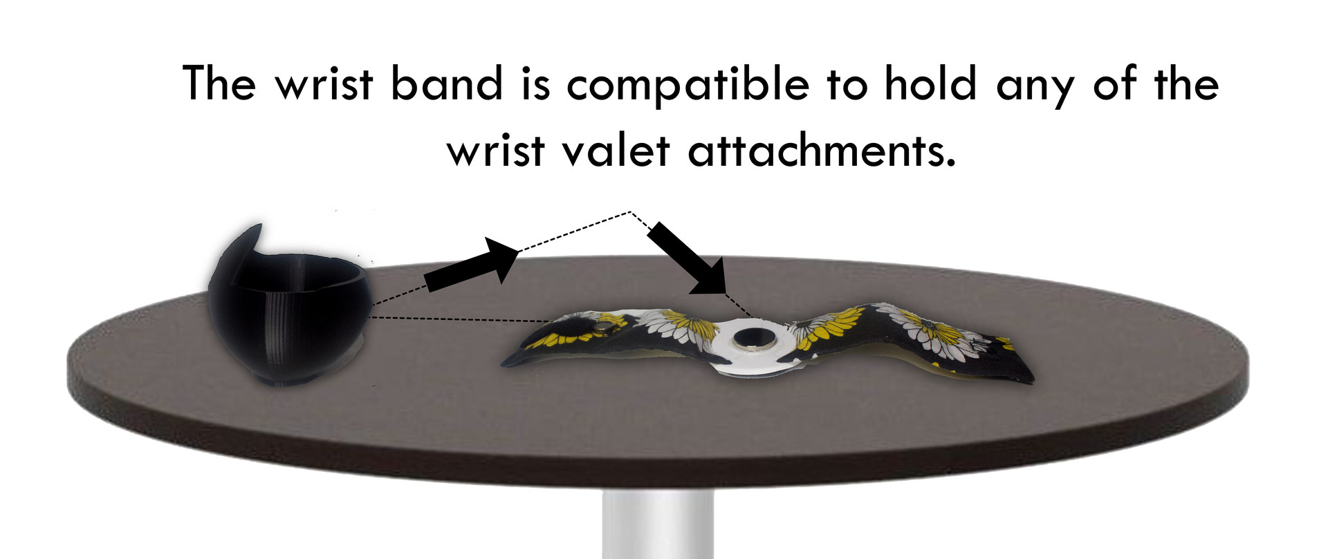 How to Use the Wrist Valet