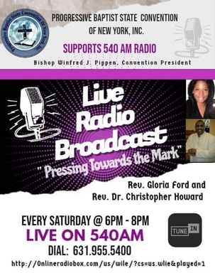 Mt Zion Baptist Church - live radio broa