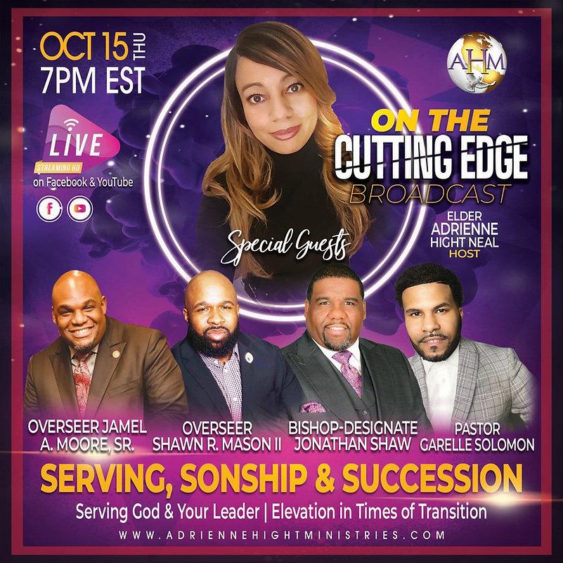 On The Cutting Edge Flyer - Thursday 10-