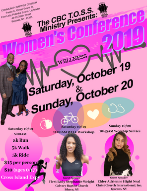 Community Baptist Church Women's Confere