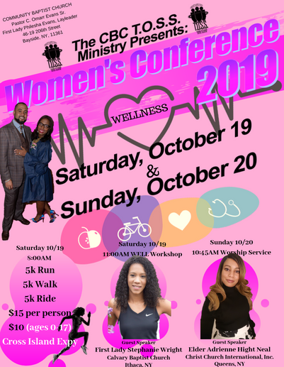 Community Baptist Church Women's Confere