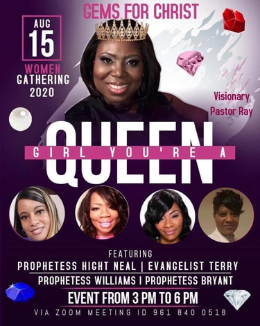 Gems for Christ - Girl You're A Queen -