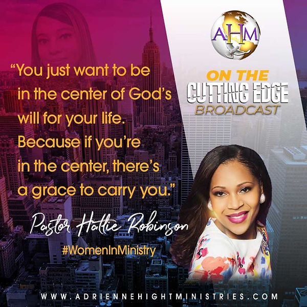 On The Cutting Edge Quote from Pastor Ha