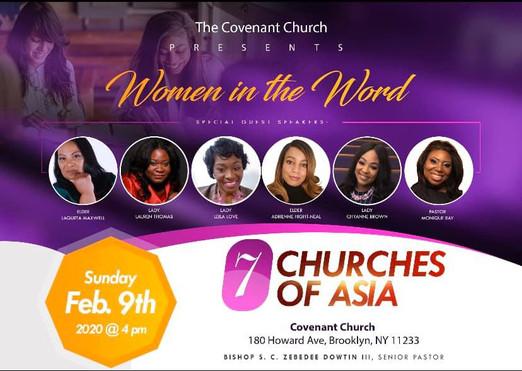 The Covenant Church - 7 Churches of Asia