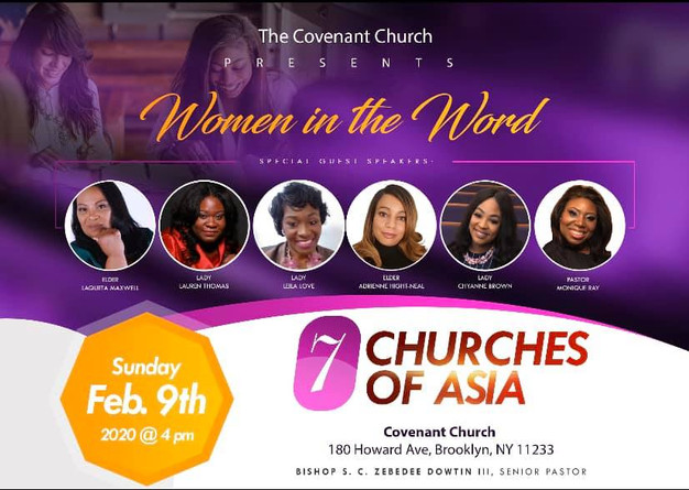 The Covenant Church - 7 Churches of Asia