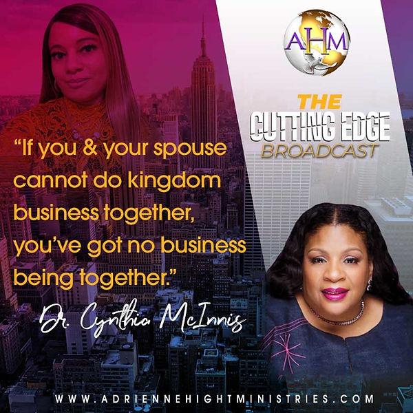 The Cutting Edge Flyer - Cynthia McInnis