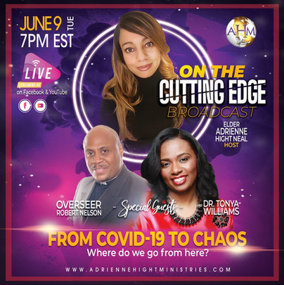 284 On The Cutting Edge Flyer - Tue 6-9-