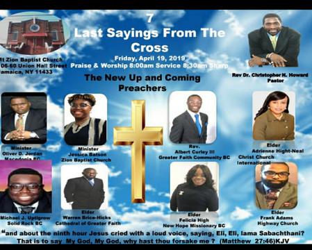 7 Last Sayings from the Cross - Good Fri