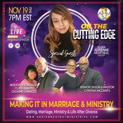 284 On The Cutting Edge Flyer - Thursday