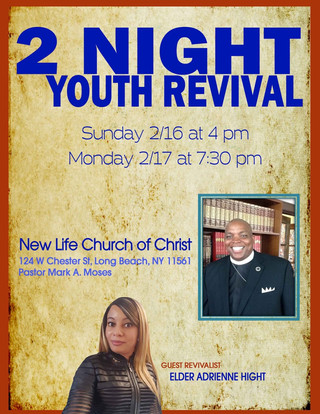 New Life Church of Christ youth revival