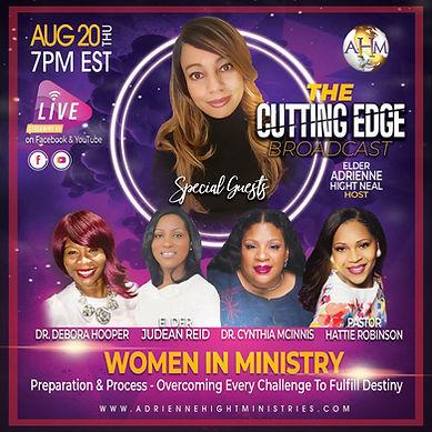 The Cutting Edge Flyer - Thursday 8-20-2
