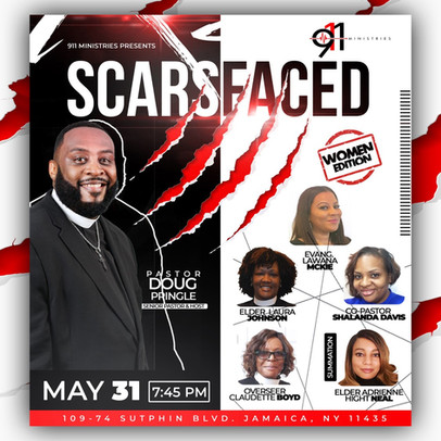 911 Ministries - Scars Faced Fri 5-31-20
