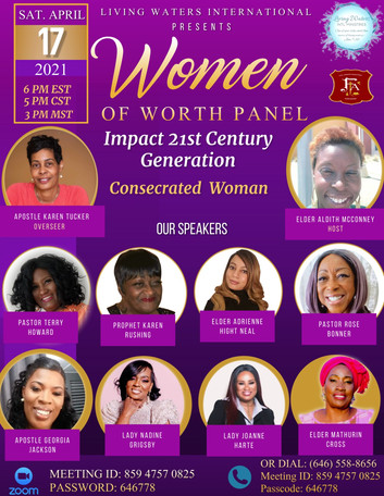 Living Waters International Women of Wor