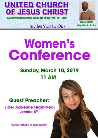 United Church of Jesus Christ Women's Co