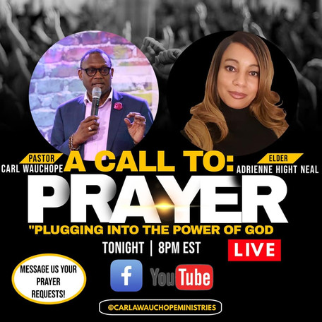 A Call to Prayer - Pastor Wauchope - Thu