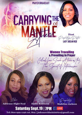 Carrying The Mantle of Esther Broadcast