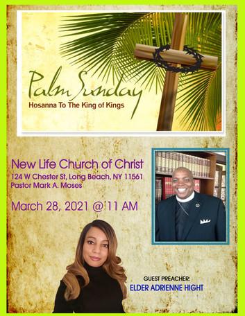 AHM Itinerary - New Life Church of Chris