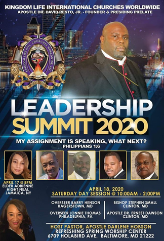 Kingdom Life Int'l Leadership Summit