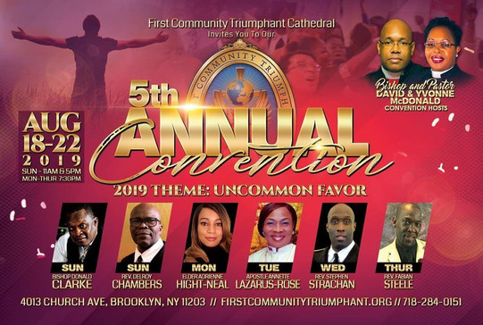 First Community Triumphant Cathedral - G