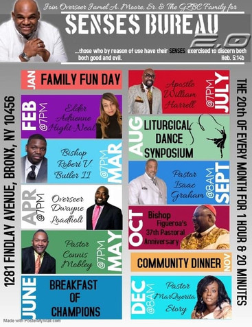 Greater Zion Baptist Church - Senses Bur