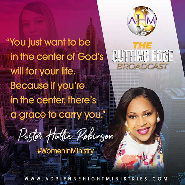 The Cutting Edge Flyer - Hattie Robinson