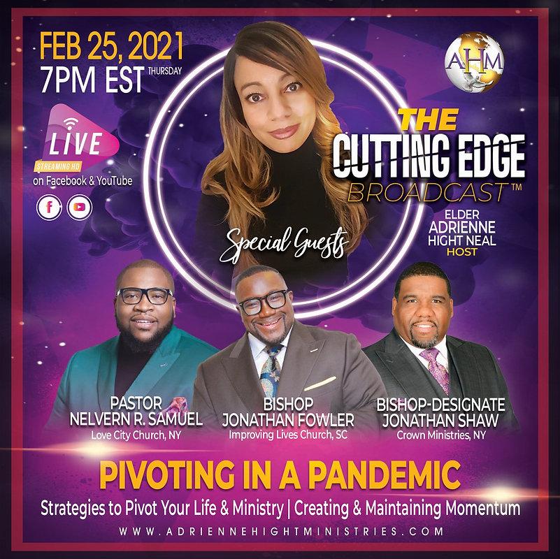 The Cutting Edge Flyer - Thursday 2-25-2