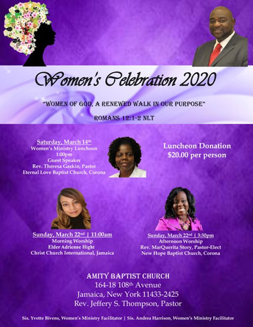 Amity Baptist Church Women's Day - Sunda
