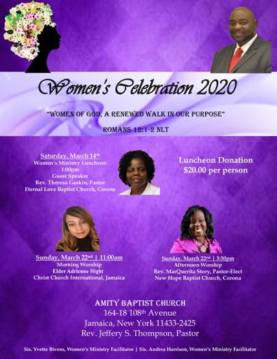 Amity Baptist Church Women's Day - Sunda
