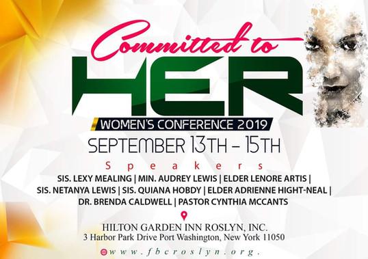 Friendship Baptist Church women's confer