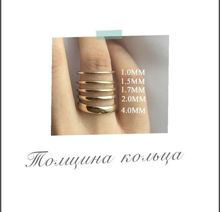 Толщина кольца